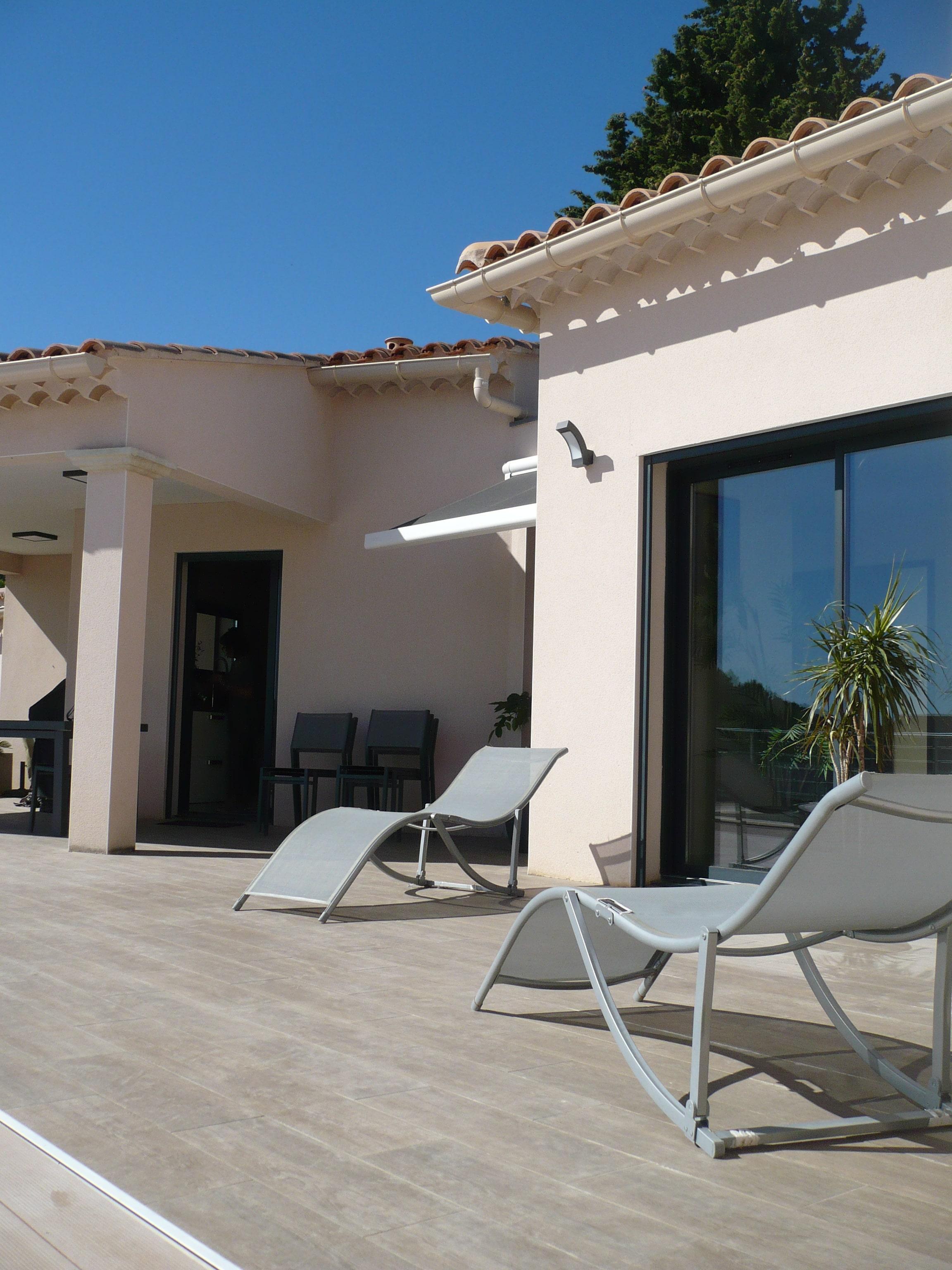 Porche D Entrée Maison Contemporaine maison contemporaine laudun 3 pans - mac2